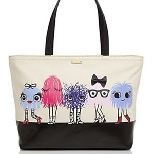 Kate Spade Monster Party Francis Tote